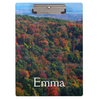 Appalachian Mountains in Fall Nature Photography Clipboard