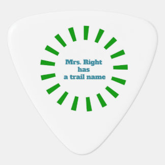 Appalachian Trail Guitar Pick