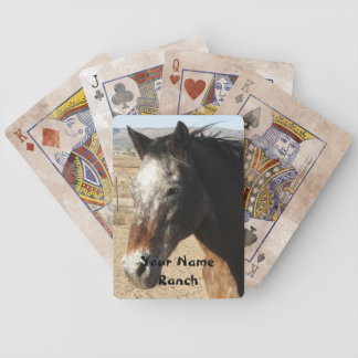 Appaloosa Horse - Your Name Ranch or Farm Poker Deck