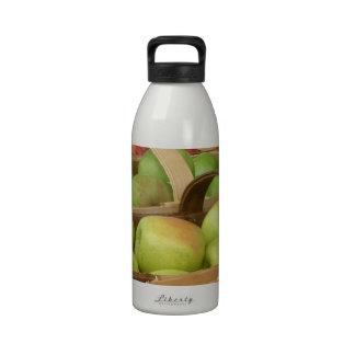 Apple Baskets at Market Drinking Bottle