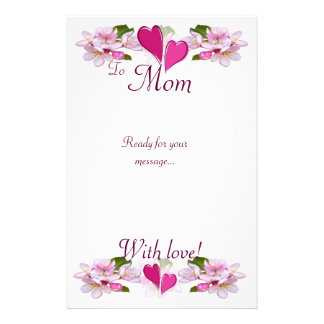 "APPLE BLOSSOM ""Thank you"" ~ Stationary # 2 Stationery"
