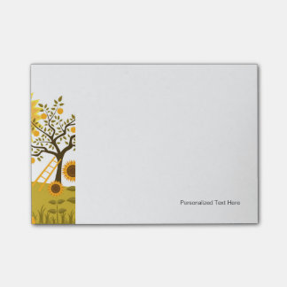 Apple Harvest Post-it Notes