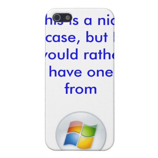 Apple Microsoft iPhone case Covers For iPhone 5
