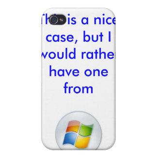 Apple Microsoft iPhone case iPhone 4/4S Cases