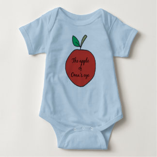 Apple of Oma's Eye Baby Bodysuit