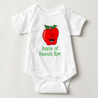 Apple of Papou's Eye Baby Bodysuit