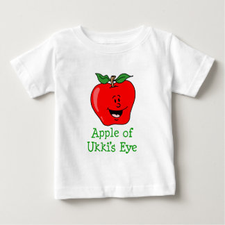 Apple of Ukki's Eye Baby T-Shirt