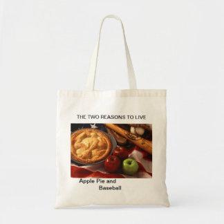 Apple pie and Baseball  bag