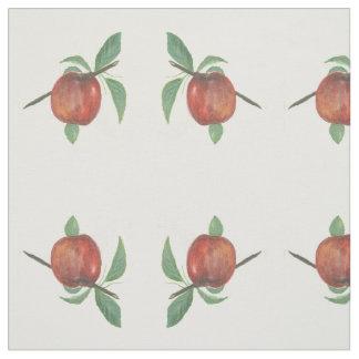 Apple Print Fabric