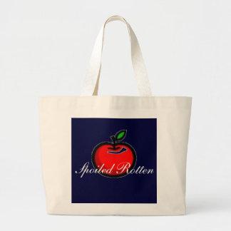 apple, Spoiled Rotten Jumbo Tote Bag
