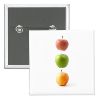 Apple Time Pinback Buttons
