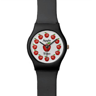 Apple Time, Red Delicious Wristwatch