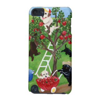Apple Tree Labradors Painting iPod Touch (5th Generation) Covers