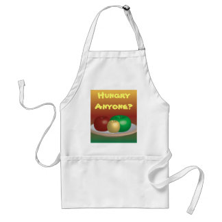 Apples on plate, Hungry Anyone? Apron