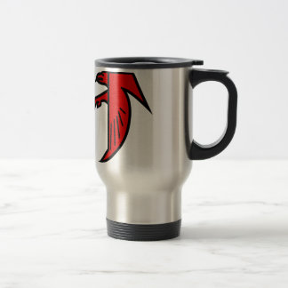 Applique Falcon Stainless Steel Travel Mug