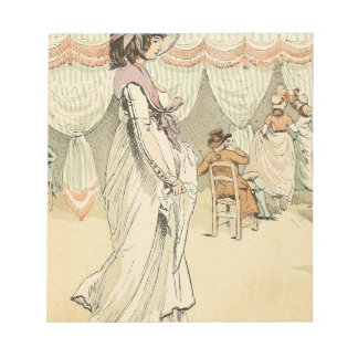 Appointment at the cafe de Tuileries 1898 Notepad