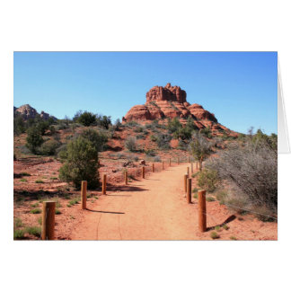 Approaching Bell Rock Greeting Card