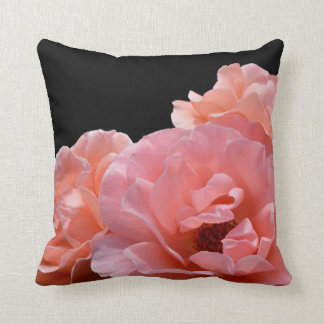 Apricot Rose I Photo Cushion