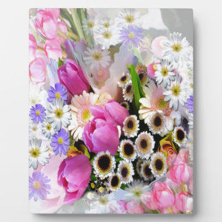 April Bouquet Plaque