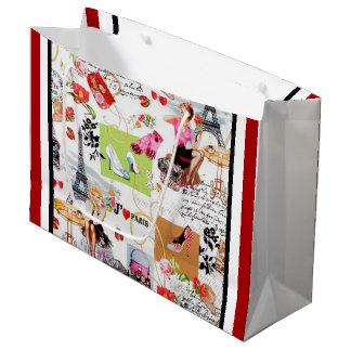 April in Paris Large Gift Bag