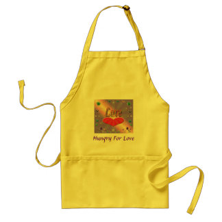 Apron, Hungry For Love Standard Apron