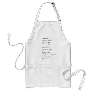 Apron: vector calculus theorems standard apron