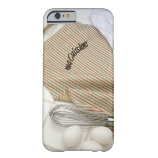Apron with eggs and whisk barely there iPhone 6 case