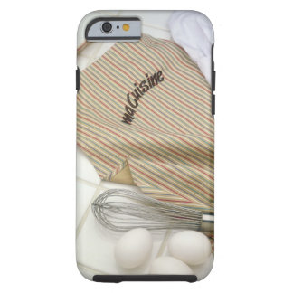 Apron with eggs and whisk tough iPhone 6 case