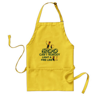 apronmaBOOmaBoo Nobody Light A Fire Aprons