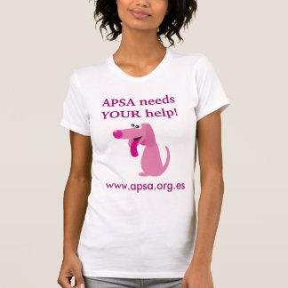 APSA Animal Charity Cute Dog Customizable T Shirts