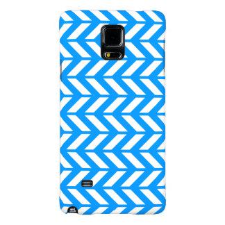 Aqua Chevron 4 Galaxy Note 4 Case