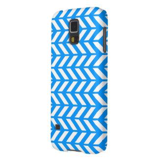 Aqua Chevron 4 Galaxy S5 Covers