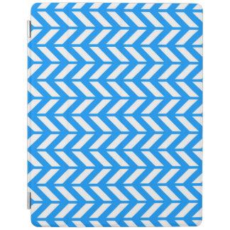 Aqua Chevron 4 iPad Cover