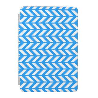 Aqua Chevron 4 iPad Mini Cover