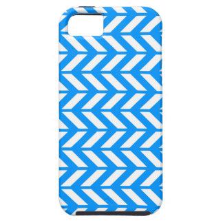 Aqua Chevron 4 iPhone 5 Case
