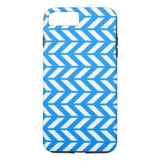 Aqua Chevron 4 iPhone 7 Plus Case