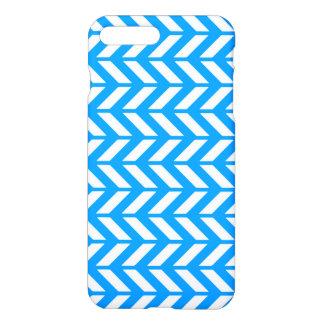 Aqua Chevron 4 iPhone 8 Plus/7 Plus Case