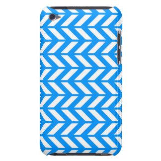 Aqua Chevron 4 iPod Touch Cover