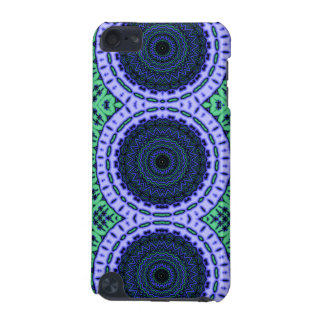 Aqua Seahorse Kaliedescope Pattern iPod Touch 5G Cover