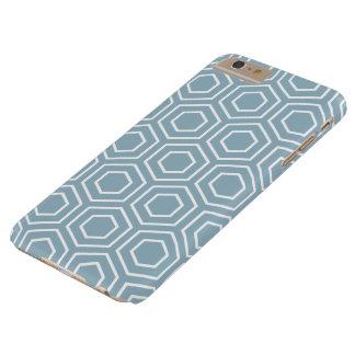 Aquamarine Blue Geometric iPhone 6 Plus Case