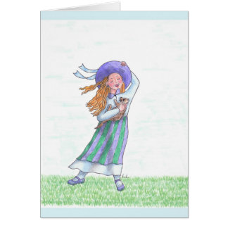 Aquamarine - March Birthday Card