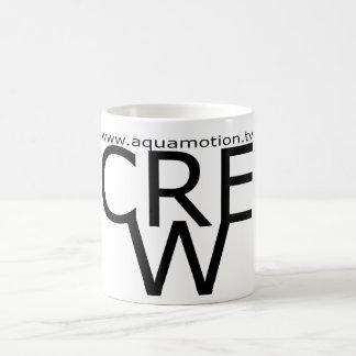 aquamotion film tv production UNDERWATER CREW MUG