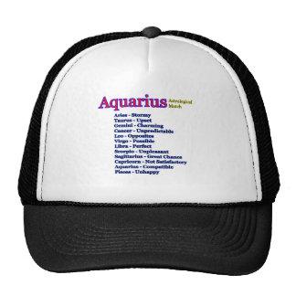 Aquarius Astrological Match The MUSEUM Zazzle Gift Cap