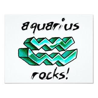 Aquarius Sign design! Card