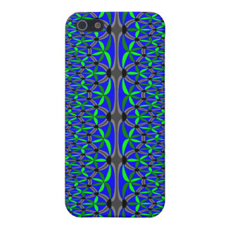 Aquatic Flowers Cover For iPhone 5/5S