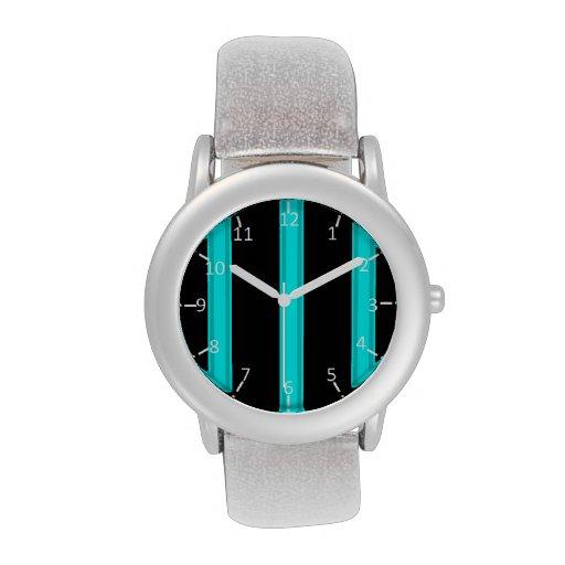 Aquatic Pinstriped Watch