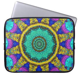 Aquatic Sundial Laptop Sleeve