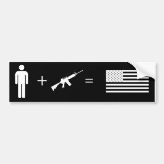 AR15 Freedom Sticker