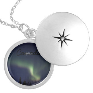 AR Aurora Reaching Silver Plated Necklace
