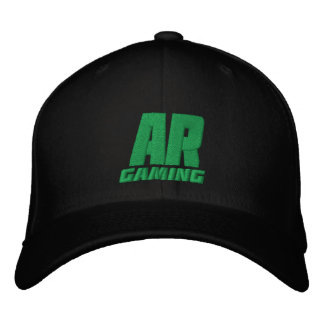 ar green hat 01 embroidered baseball cap